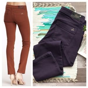 DL1961 Viola Samantha slim straight jeans SZ 30